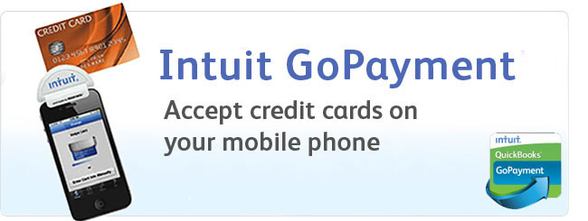 Intuit GoPayment: Accept credit cards on your mobile phone